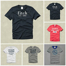 NEW ABERCROMBIE KIDS BOYS GRAPHIC COTTON T-SHIRTS sizes S, M, L, XL