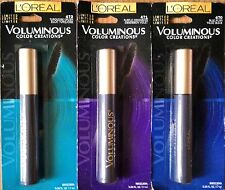 L'oreal Voluminous Color Creations  Mascara Limited Edition   : Pick your Color