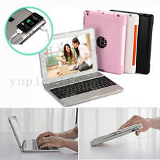 Wireless Bluetooth Keyboard Power Bank 4000mAh Case Cover For Apple iPad 4 3 2