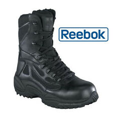 Reebok RB8874 Men's Black Composite Toe Side Zip Uniform Duty Boot