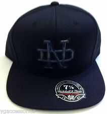 NCAA Notre Dame Fighting Irish Mitchell and Ness Holographic Fitted Cap Hat M&N