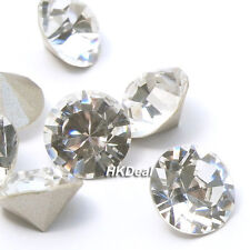 Swarovski 1028 pp18 Point Back Round Stone Crystal Clear 2.5mm 3D Nail