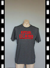SIZE SMALL/MEDIUM, BRAND NEW GENUINE MEN RIPCURL GYM T SHIRT, BLACK