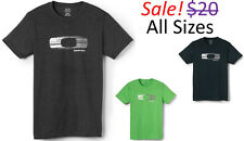 Oakley Brave Men Square O Factory Logo Short Sleeve Tee T Shirt Clothing Apparel