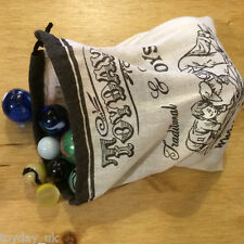 Loose Glass Marbles Party Bag/Stocking Filler Various Sizes by House of Marbles