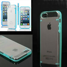 HOT Transparent Ultra Thin Gel Skin Hybrid Phone Case Cover For iPhone 5 5s 4 4s