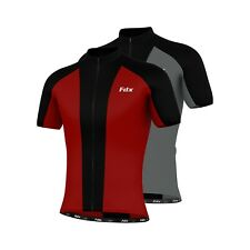 FDX Mens Cycling Jersey Half Sleeve Biking Top Outdoors Sportswear  Bike Shirt