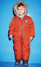 BNWT Next Expedition Russian Orange Snowsuit  Hooded All in One Waterproof