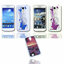 Design Back Cover Case + Displayschutzfolie  Samsung i9190 i9195 Galaxy S4 Mini