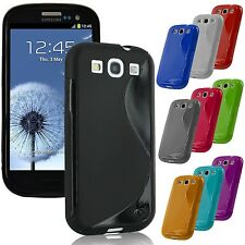 TPU Soft Rubber Gel Silicone Case Cover For Samsung Galaxy S III 3 i9300 S Line