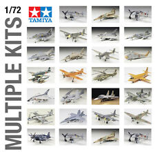 TAMIYA 1/72th AIRCRAFT PLANE WWII PLASTIC MODEL KIT BUILD YOURSELF - ALL SETS!