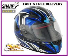 Stealth HD188 Daisho Red Interior Visor Full Face Motorcycle Motorbike Helmet