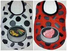 Handmade NHL Baby Bibs - Hockey Pucks