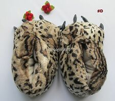 New Slippers Monster foot Bear Feets Claw Plush Paw Big - More color for Choose
