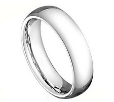 5CT294-TY0 Cobalt High Polish Classic Domed Band Comfort Fit Band