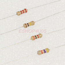 100 pcs 1/4W 0.25W 5% Carbon Film Resistors resistor 22 - 300 ohm New