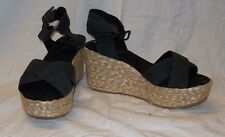 WOMEN'S  CALL IT SPRING HACARTY BLACK SANDALS ONE SIZE NEW IN BOX