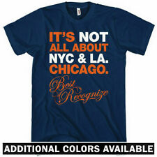 BEST RECOGNIZE CHICAGO T-SHIRT - Windy City 312 773 Chi - Men and Kids XS-4XL