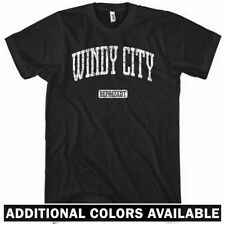 WINDY CITY REPRESENT T-SHIRT - Chicago 312 773 Chi Bears - Men and Kids XS-4XL