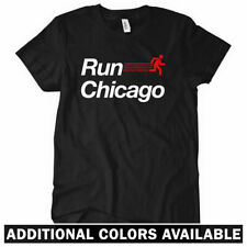 RUN CHICAGO V2 Women's T-shirt - Windy City Bulls Bears Cubs Sox Running - S-2XL