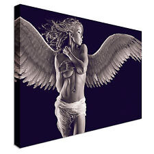 Sexy angel girl erotic nude Canvas Wall Art Print Large + Any Size