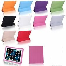 Ultra Slim Magnetic Smart Cover With Hard Back Case for Apple Ipad / Mini Stand