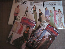 YOU PICK simplicity vogue butterick McCall's patterns plus size COSTUMES home
