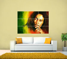 Bob Marley GIANT Poster, Biggest on ebay 126 x 89.1 cm. various sizes from A3,A4