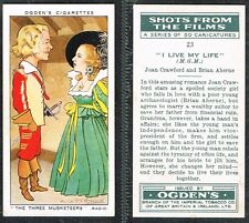 Ogdens - Shots From The Films 1936 #1 to #50 UK Film/Movie Cigarette Cards