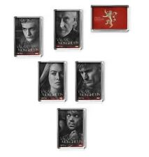 GAME OF THRONES fridge magnet SEASON 4, 6 designs, LANNISTER, Tyrion,