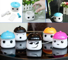 New Cool Water Portable Mini USB LEBAO Mist Car Humidifier Filter Air Purifier