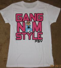 Gangnam Style Adult T-Shirt by Bravado Juniors Fitted Tee New with tags