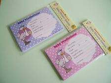 . baby prediction game cards. pink or blue