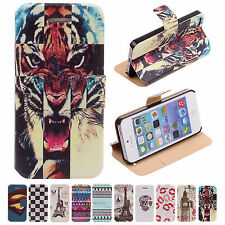 CHEAP~Fashion Faux Leather Flip Skin Phone Case Cover Skin Apple iPhone 5/5S NEW
