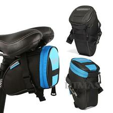ROSWHEEL Cycling Bicycle Bike Saddle Seat Rear Tail Pouch Bag Outdoor Travel