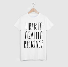 LIBERTE EGALITE BEYONCE T SHIRT FASHION TOP TYGA TEE TSHIRTMUSIC HIP HOP SWAG