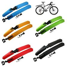 New Cycling Mountain Bike Bicycle Front Mudguard + Rear Fender Mud Guard Set