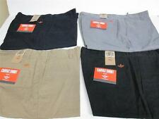 Dockers Men's Flat Front Canvas Shorts in Various Colors and Sizes NWT