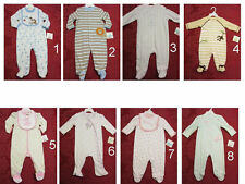 NWT Little Me Baby boy/Girl Outfit Coverall jumpsuit footer SZ 3,6,9 MO