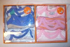BABY AND TODDLER BOY OR GIRL GIGGLE BABY BODYSUIT 3 PACK GIFT SET NEW IN BOX