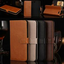 New Brown Luxury Flip PU Leather Wallet Case Cover Pouch For Amazon Fire Phone
