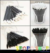 20/50/100 each Disposable Eyelash Mascara Wand Brush +Lip Wand Brush Lip Gloss