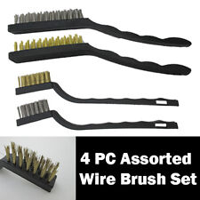 MINI WIRE BRUSH SET DIY Tools for Surface Cleaning Dirt Hand Power Drill Grinder
