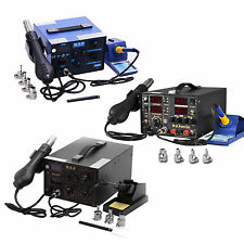 Soldering Iron Desoldering Unsoldering Station Hot Air Rework Gun Display
