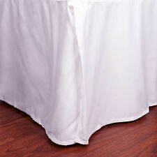 "Microfiber 1500 Egyptian Quality Pleated Bed Skirt 14"" Drop All Sizes & Colors"