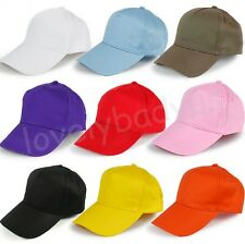 11 Colors Men Ladies Baseball Cap Adjustable Classic Cotton Summer Sun Hat