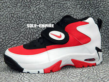 Nike Air Mission White Fire Red Black 629467-101 Seau DS Trainer Deion