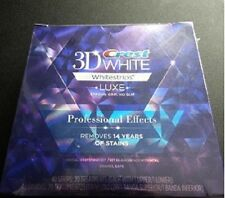 Crest 3D Effects Professional Whitestrips Whitening White Effect Luxe White