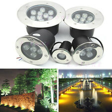 1W-15W LED Outdoor In Ground Garden Path Flood Spot Landscape Light Waterproof