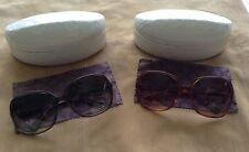 AUTHENTIC Coach Sunglasses Womens S2051 Amberhorn or Olivehorn,Rectuagular Frame